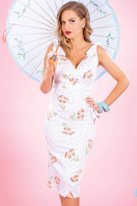 Valentina Tulip Fitted Dress by Stop Staring!