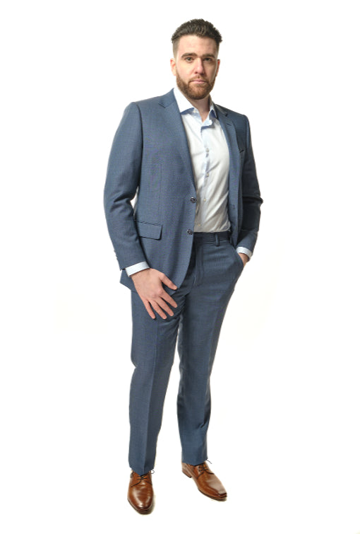 Modern Fit Blue Suit