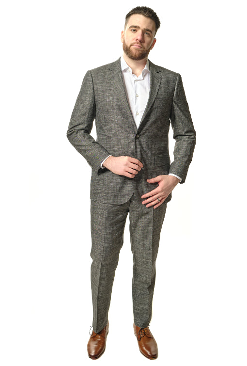 Modern Fit Dark Grey Suit