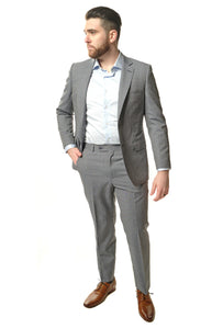 Classic Fit Light Grey Suit