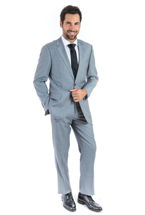 Modern Fit Lite Grey Suit