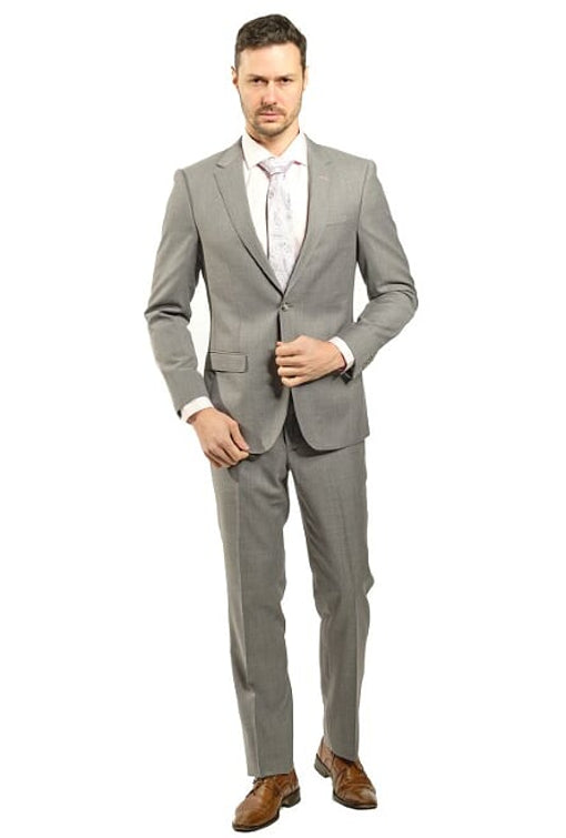 Slim Fit Lite Grey Suit
