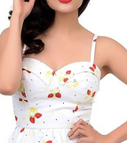 Stop Staring Strawberry Swing Dress Preview