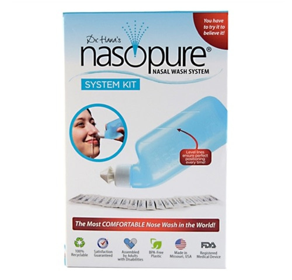 Load image into Gallery viewer, Nasopure Nasal Wash System Starter Kit