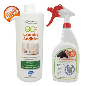 EC3 Mould Solution Spray And Laundry Additive Bundle