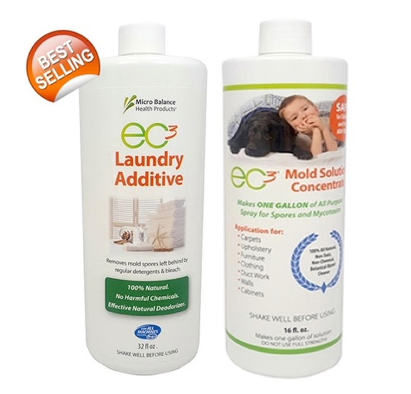 EC3 Mould Solution Concentrate And Laundry Additive Bundle