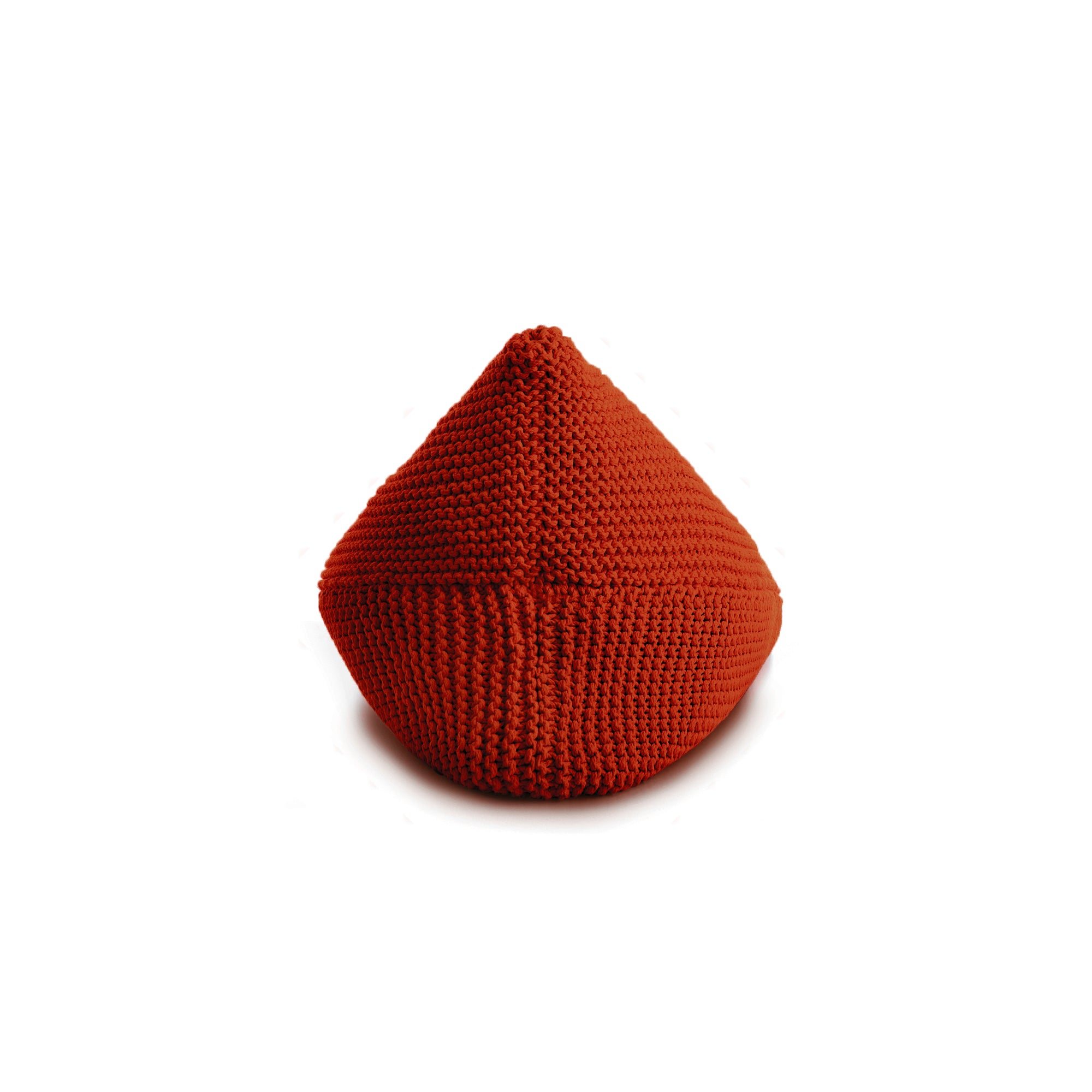 Puff String Liso Terracota