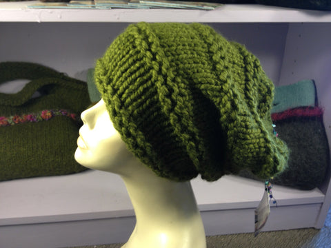 Wasabi Slouch Hat