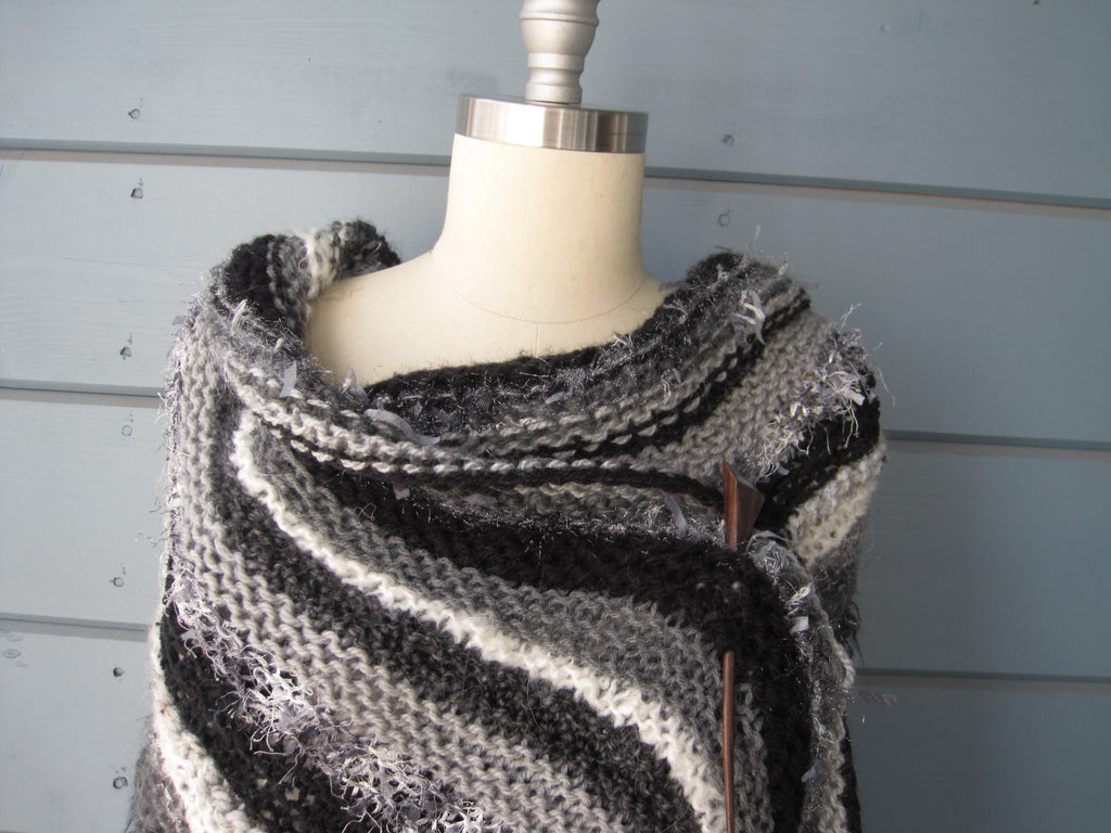 Black Goddess Shawl