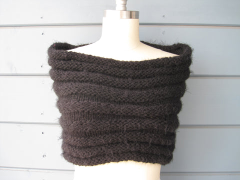 Black Sparkle Shrug / Cowl