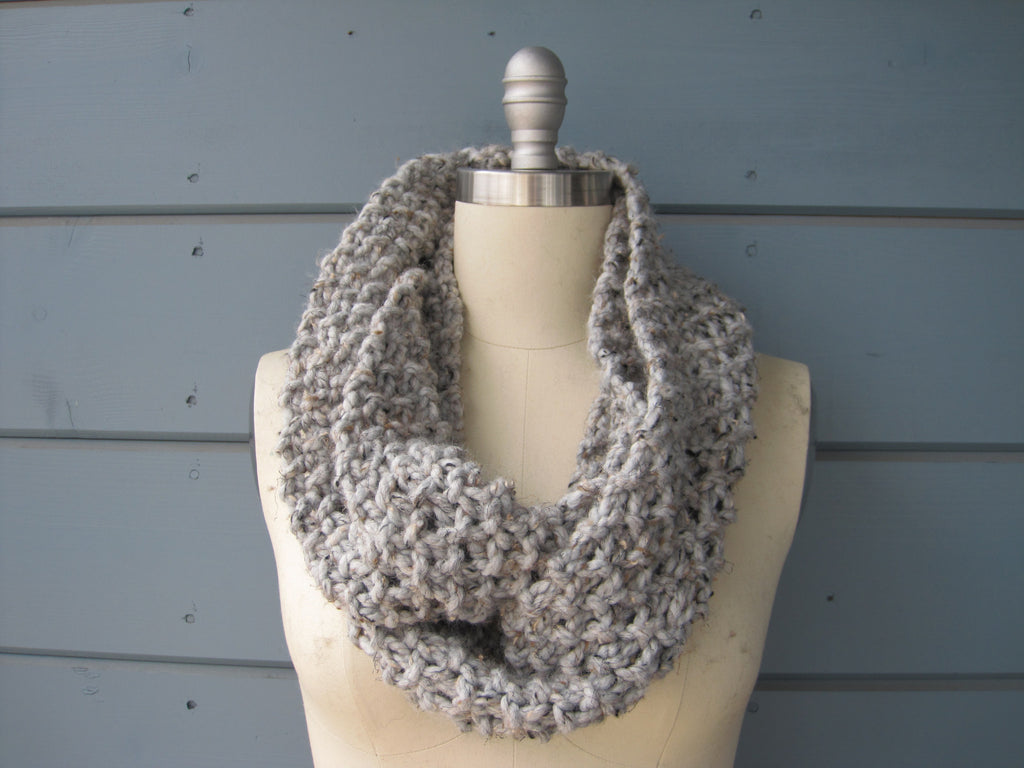 Marble Infinity Scarf