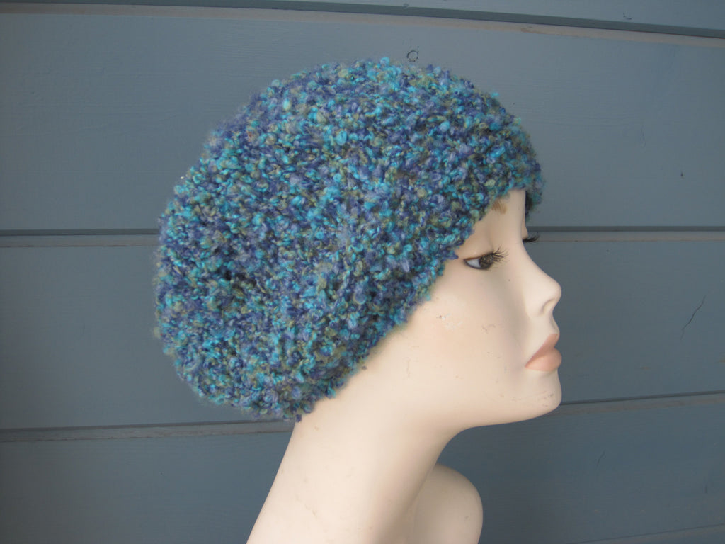 Turquoise Blend Slouch Hat
