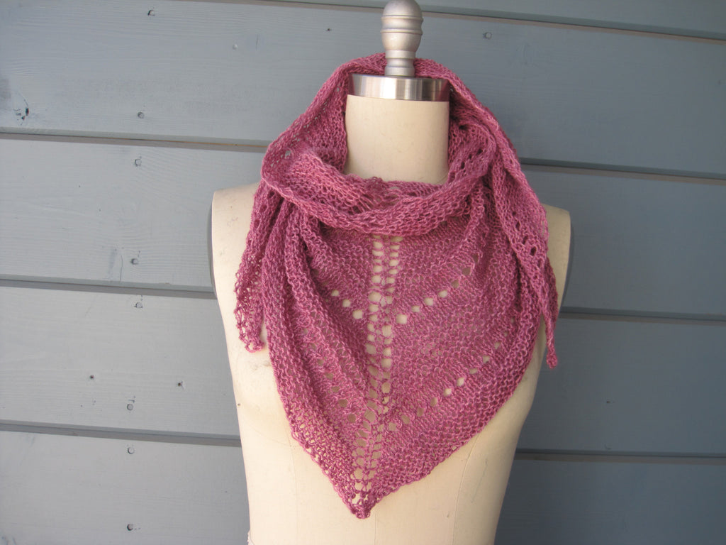 Cashmere Berry Petite Shawl / Neck Scarf