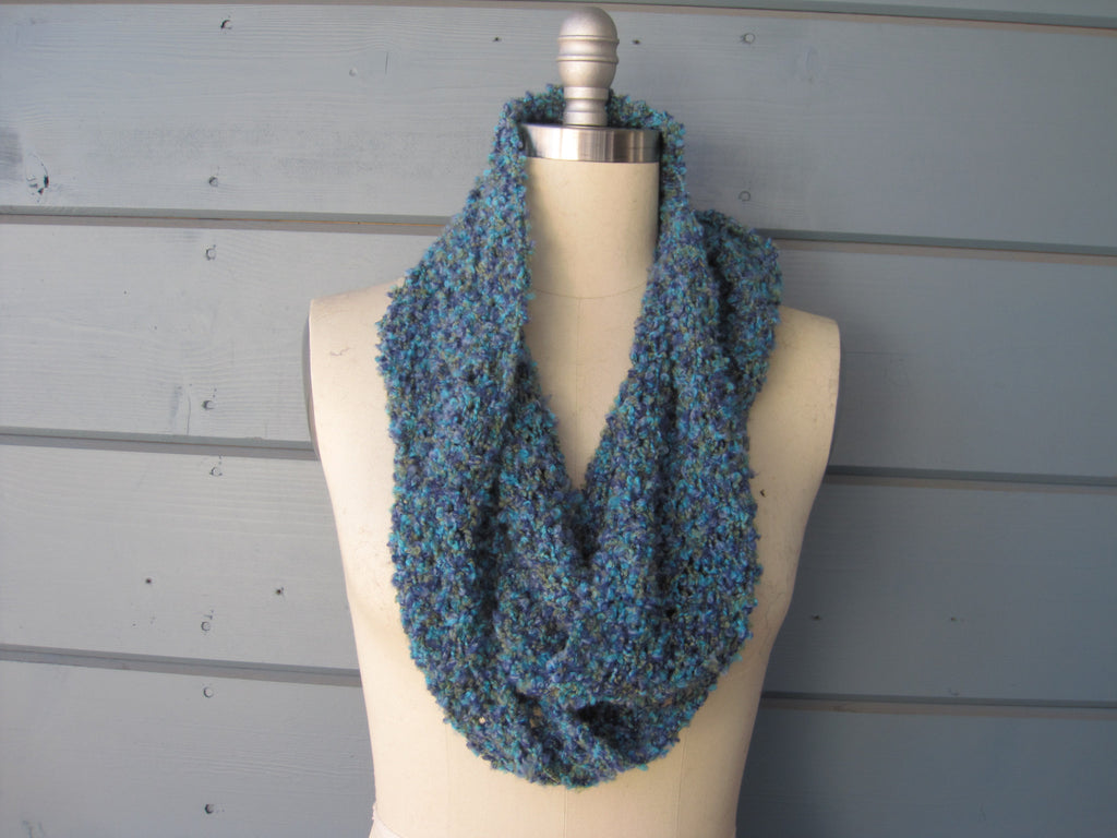 Turquoise Blend Infinity Scarf