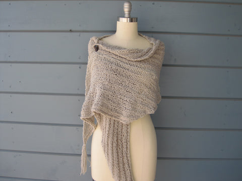 Silver Goddess Shawl / Scarf  Sold