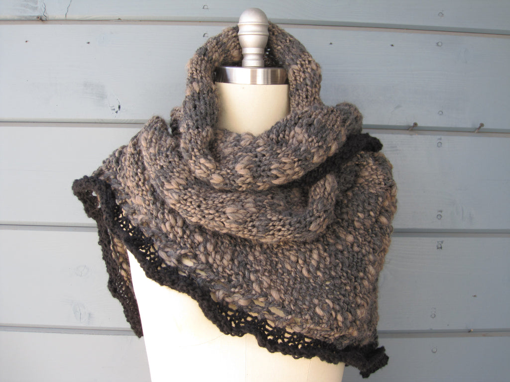 River Rock Shawl / Scarf