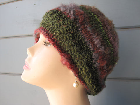 Magical Green Slouch Hat