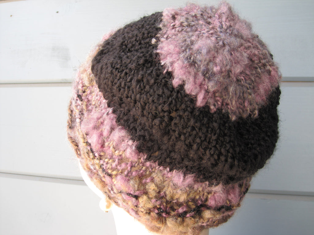 Magical Violet Slouch Hat  SOLD