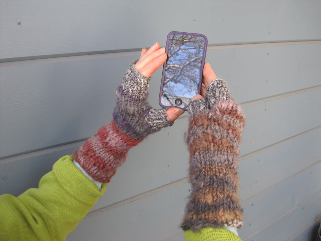 Magical Fingerless Gloves - Texting Gloves