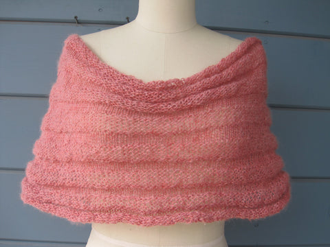Blush Shrug / Cowl