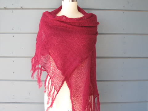Black Cherry Shawl