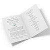 Olive Branch Funeral Program Template 2