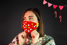 Load image into Gallery viewer, Christmas  | Face Mask | Sparkling Lights