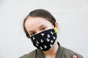 bird style face and nose mask from happy mask