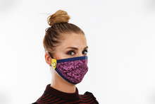 Charger l'image dans la visionneuse de galerie, Purple Berry | Face Mask - Happy Mask