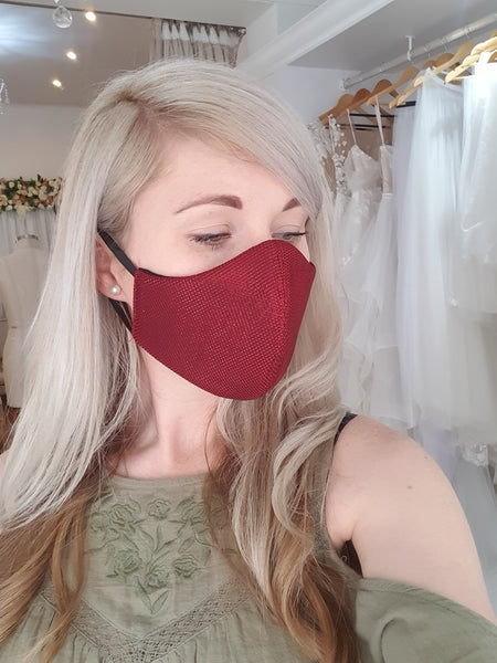 Mask: Red