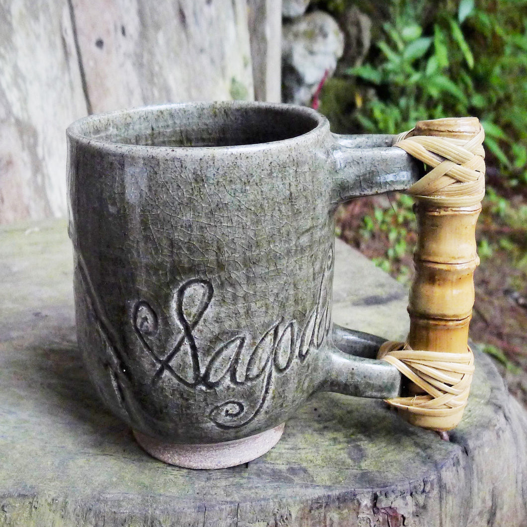 Bamboo Mountain Mug Green