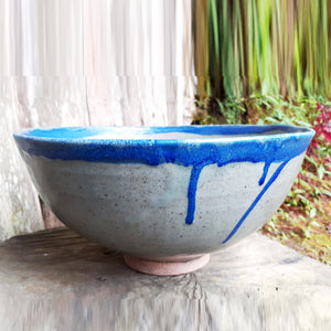 Mountain Bowl Blue Wash C
