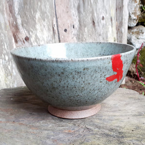 Mountain Bowl Red Dot