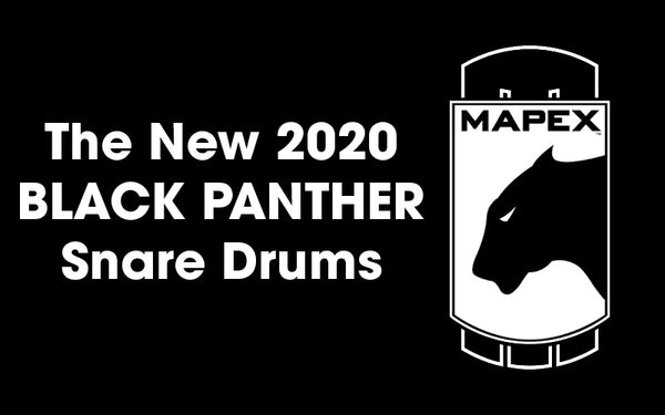 New Mapex Black Panther Snare Drums