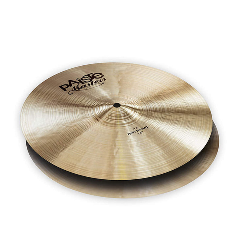 "Paiste Masters Collection 14"" Thin Hi-Hats"