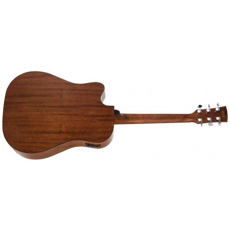 Ibanez Artwood AW65ECE Electro-Acoustic Guitar in Natural Low Gloss