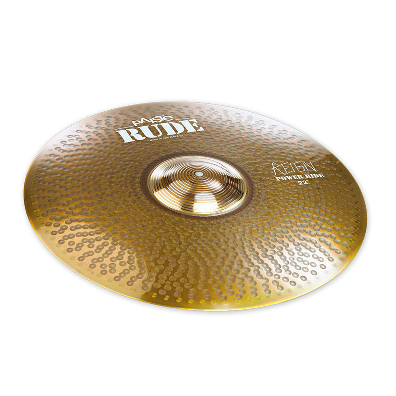 "Paiste Rude 22"" Power Ride ""The Reign"""