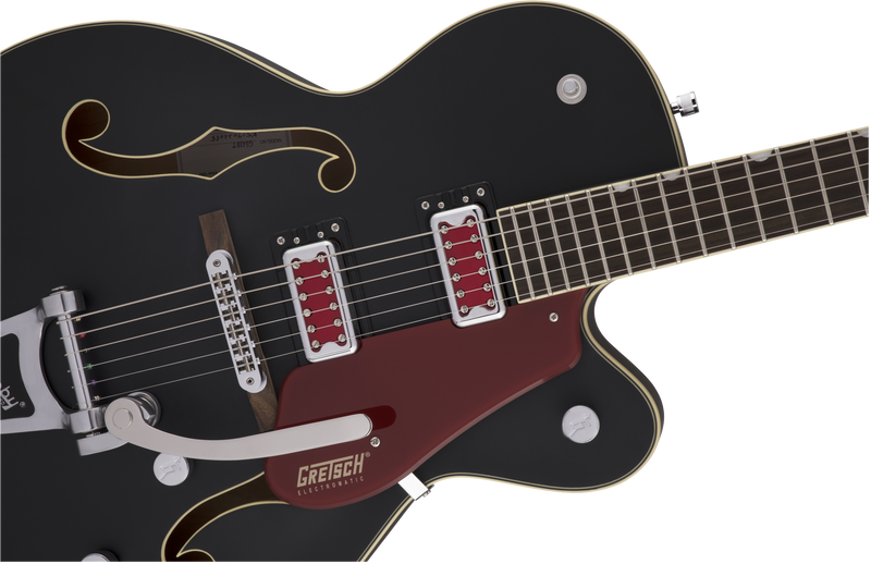 "Gretsch G5410T Electromatic ""Rat Rod"" Hollow Body with Bigsby in Matte Black"