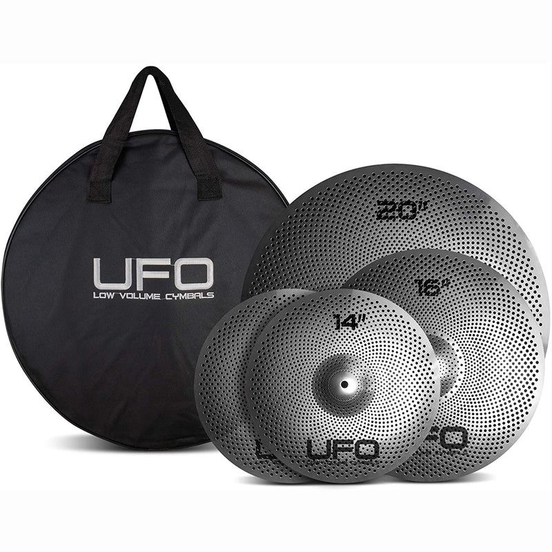 UFO Low Volume Cymbal Pack - Set 1