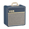 "VOX AC4 All-Valve 4 watt 1x10"" Guitar Combo Amp in Blue"