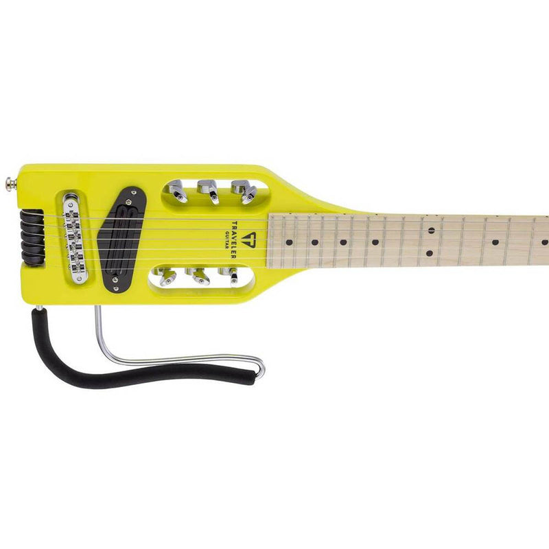 Traveler Ultra-Light Electric Travel Guitar in Electric Yellow