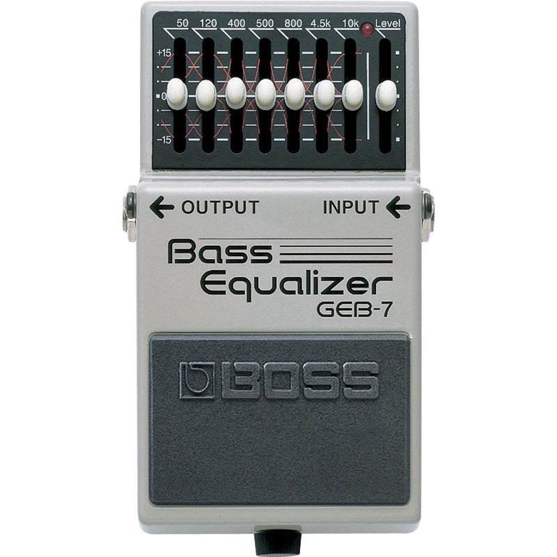 Boss Compact GEB-7 Bass Seven Band EQ