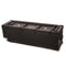 "Hardcase Hardware Case 52""x16""x16"" with 4 Wheels"