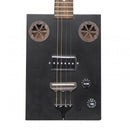 J.N Guitars Cask Series Cigar Box Electro-Acoustic Guitar - Hogscoal