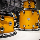 DS Drums Rebel Custom Shop Shell Pack in Hot Sun Solid Satin