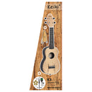 Keiki Soprano Ukulele Pack with Spalted Maple Top