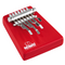 Nino Percussion Medium Wood Kalimba - 7 Bars in Red