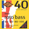 Rotosound RB40 Rotobass Bass Guitar Strings (.040 -.100) Medium