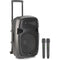 "Stagg 15"" Portable Speaker with x2 Wireless Microphones"