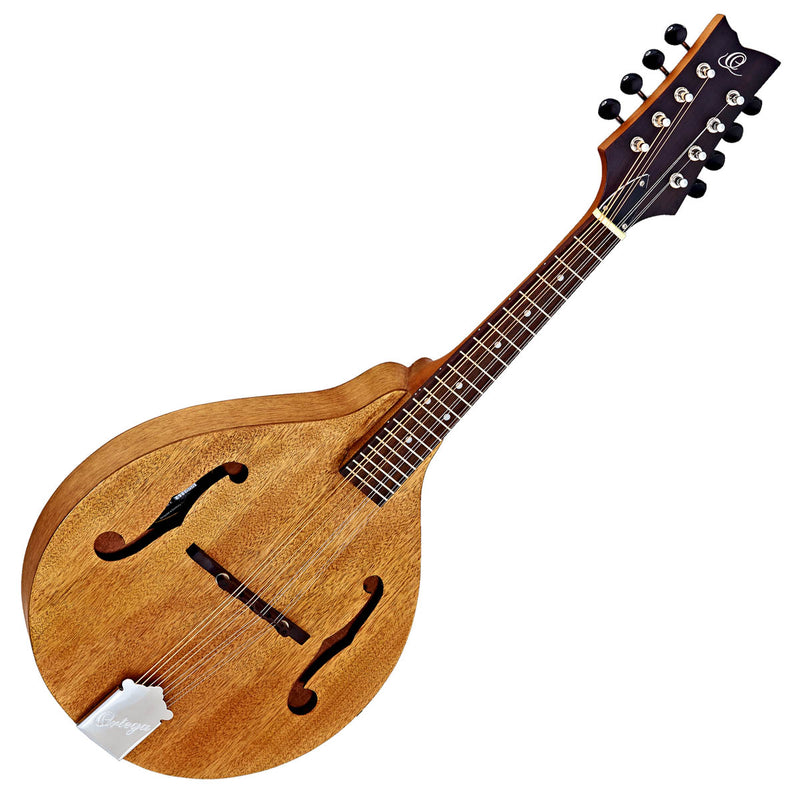 Ortega A-Style Acoustic Mandolin in Natural